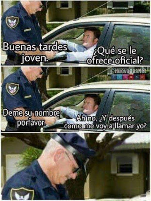 Cuando te piden tu nombre esta es la mejor forma de contestar XD - Meme Para más imágenes graciosas y memes en Español visita: https://www.Huevadas.net #meme #humor #chistes #viral #amor #huevadasnet