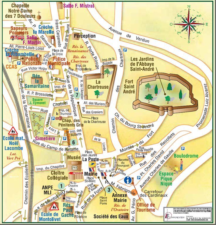 Etudions une ville française et ses endroits + Aller à + Directions - Le français au lycée Mount Vernon - Catherine Ousselin