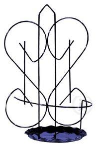 Deoart24.pl  Kwietnik wykonany ze stali nierdzewnej, przez co zyskuje na stabilności oraz jakości. Może być umieszczony zarówno w domu jak i na balkonie bądź w ogrodzie. Finezyjne i perfekcyjne wykończenia sprawią, że nikt nie przejdzie obok obojętnie. Produkt pakowany jest po 5 sztuk, podana cena jest ceną za opakowanie (5sztuk).