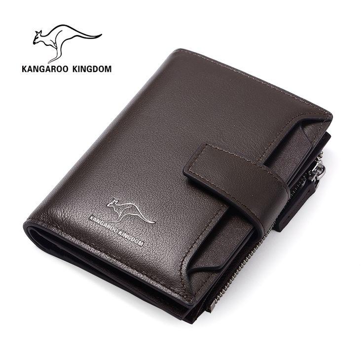 Кенгуру мужские короткие бумажник мужчины кожаный бумажник первый слой лицензионная карточка чемоданчик мужской бумажник кошелек кожаный водителя -tmall.com Lynx