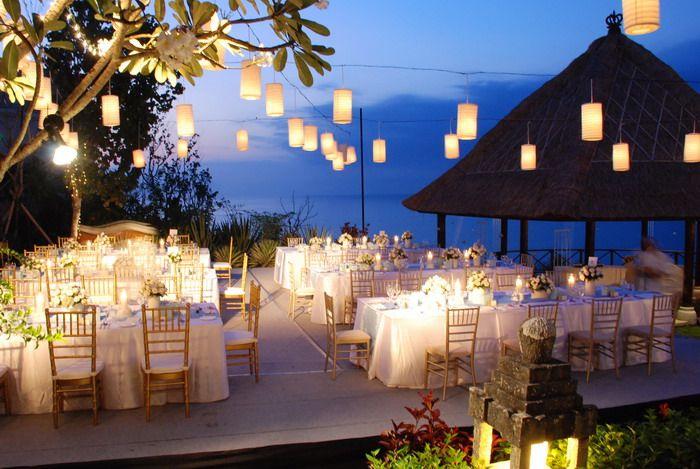 Wedding Reception Beach Side