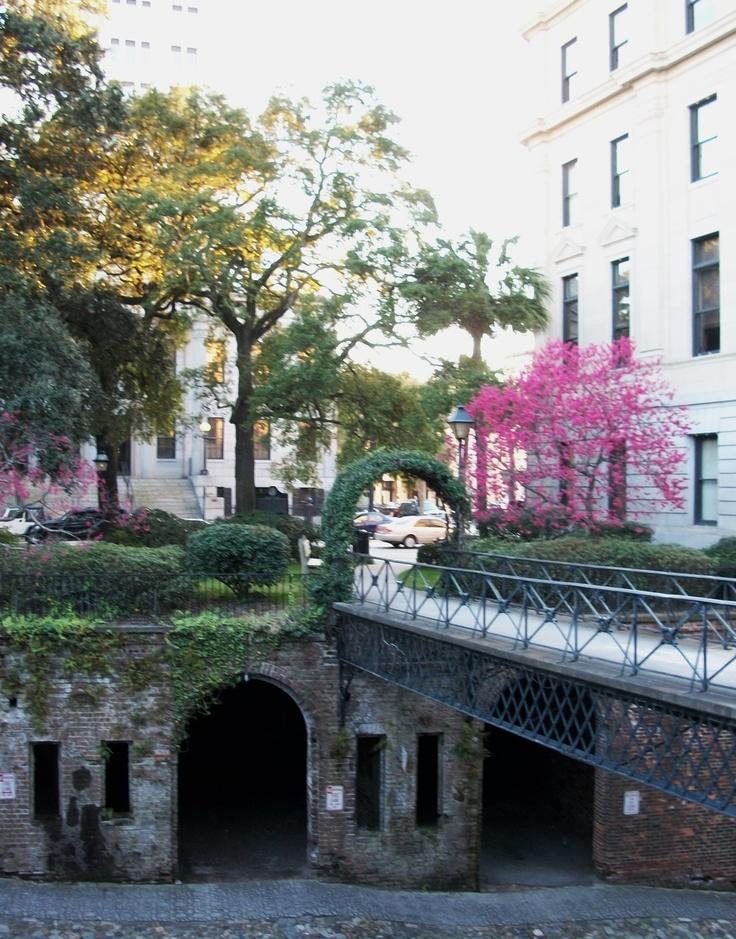 River Street in Savannah.