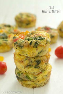 Paleo Breakfast Muffins (Whole 30 Approved) Recipe on Yummly. @yummly #recipe