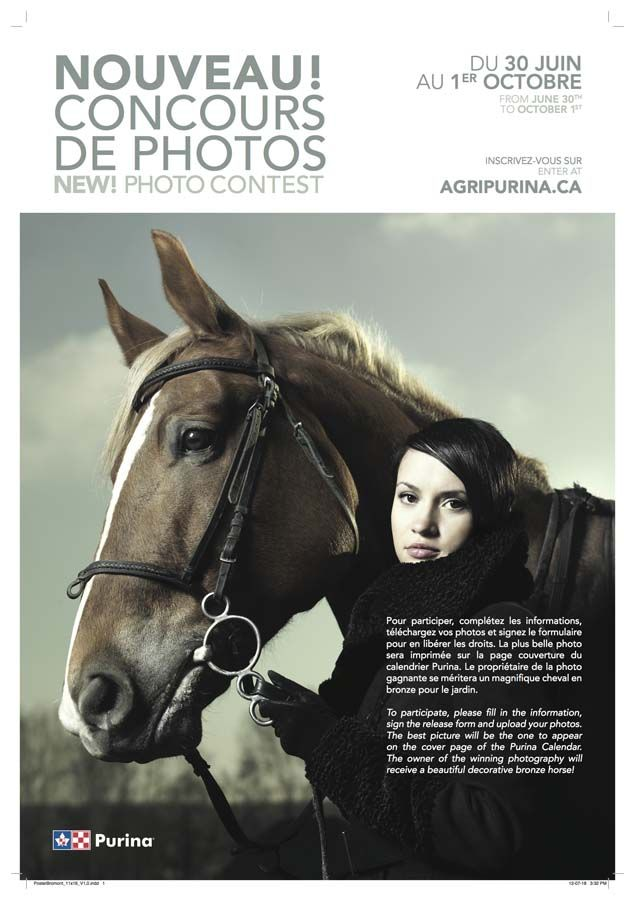 Agribrands Purina. Concours photo!
