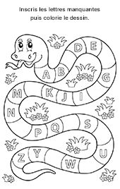 Alphabet ; majuscules, caractères d'imprimerie