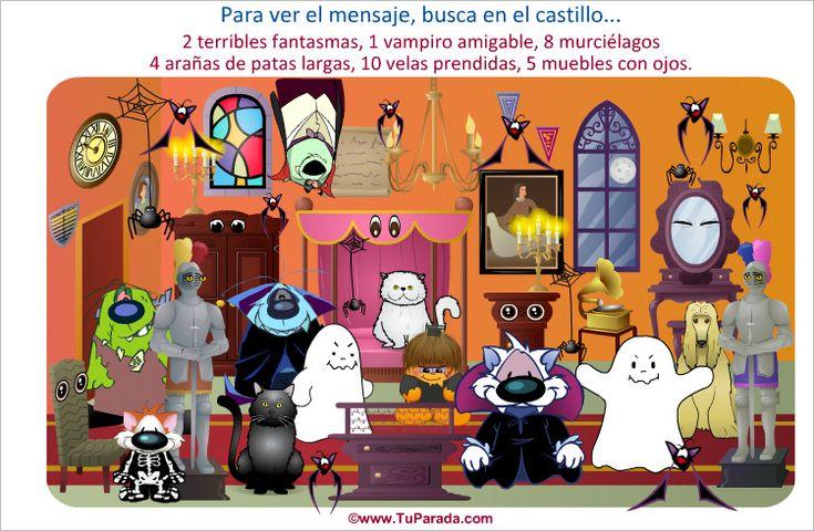 Juegos, Juego Juego - Castillo encantado, juegos gratis, rompecabezas, memotest, puzzles, juegos para niños, juegos de niñas, juegos en línea.