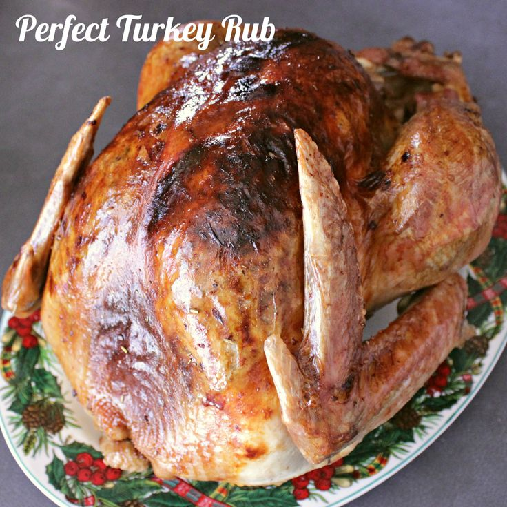 Perfect Turkey Rub. You'll never roast a turkey the same again after you've come face to face with this Perfect Turkey Rub! Aromatic spices and the genius rub technique combine to bring juicy perfection to your turkey dinner.