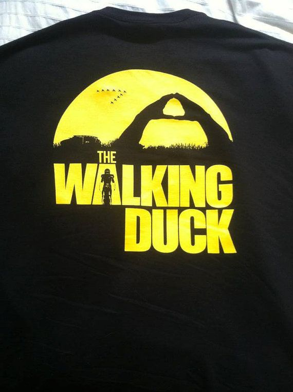 Oregon Duck - Walking Duck T-Shirt Can now be ordered for a limited time via  https://www.facebook.com/photo.php?fbid=733677883333081&set=a.597055286995342.1073741829.551680494866155&type=1&theater