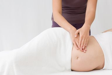 "Prenatal Massage  A specially designed, soothing massage for the expectant mother. The focus is on relieving discomfort in the shoulders, lower back and legs to improve circulation; relaxing the body and mind and leaving our ""mother-to-be"" feeling refreshed and ready for her new role in life."