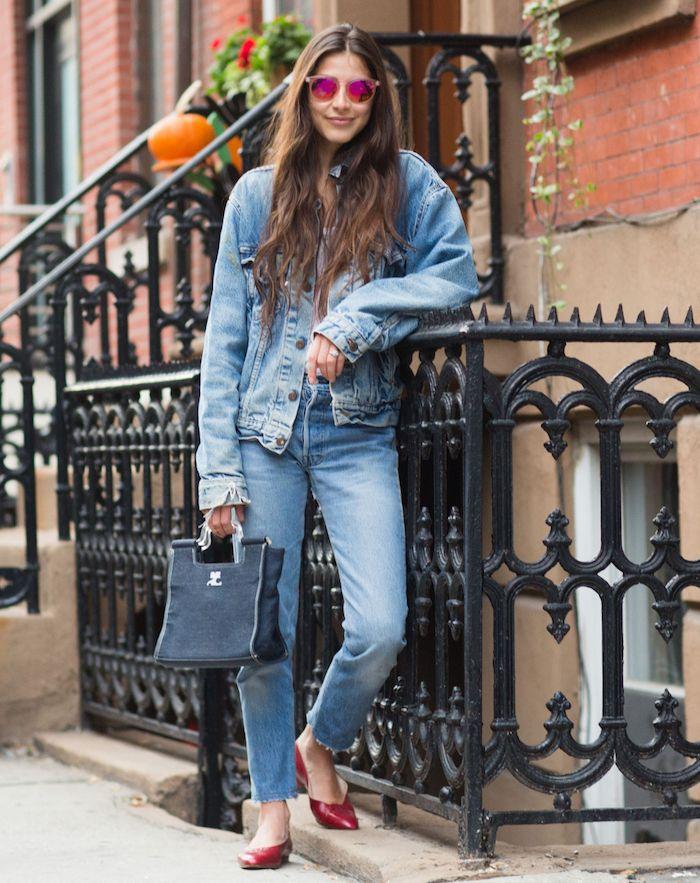 Veste jean levis pour femme
