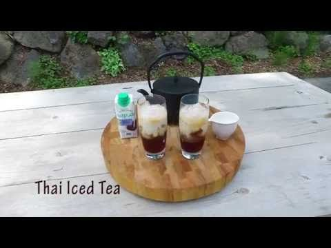 Coconut Thai Iced Tea | This creamy, sweet refreshing treat is perfect for summer time. A must try! #nutpodsrecipe #nutpods #icedtea #thai #video #recipe