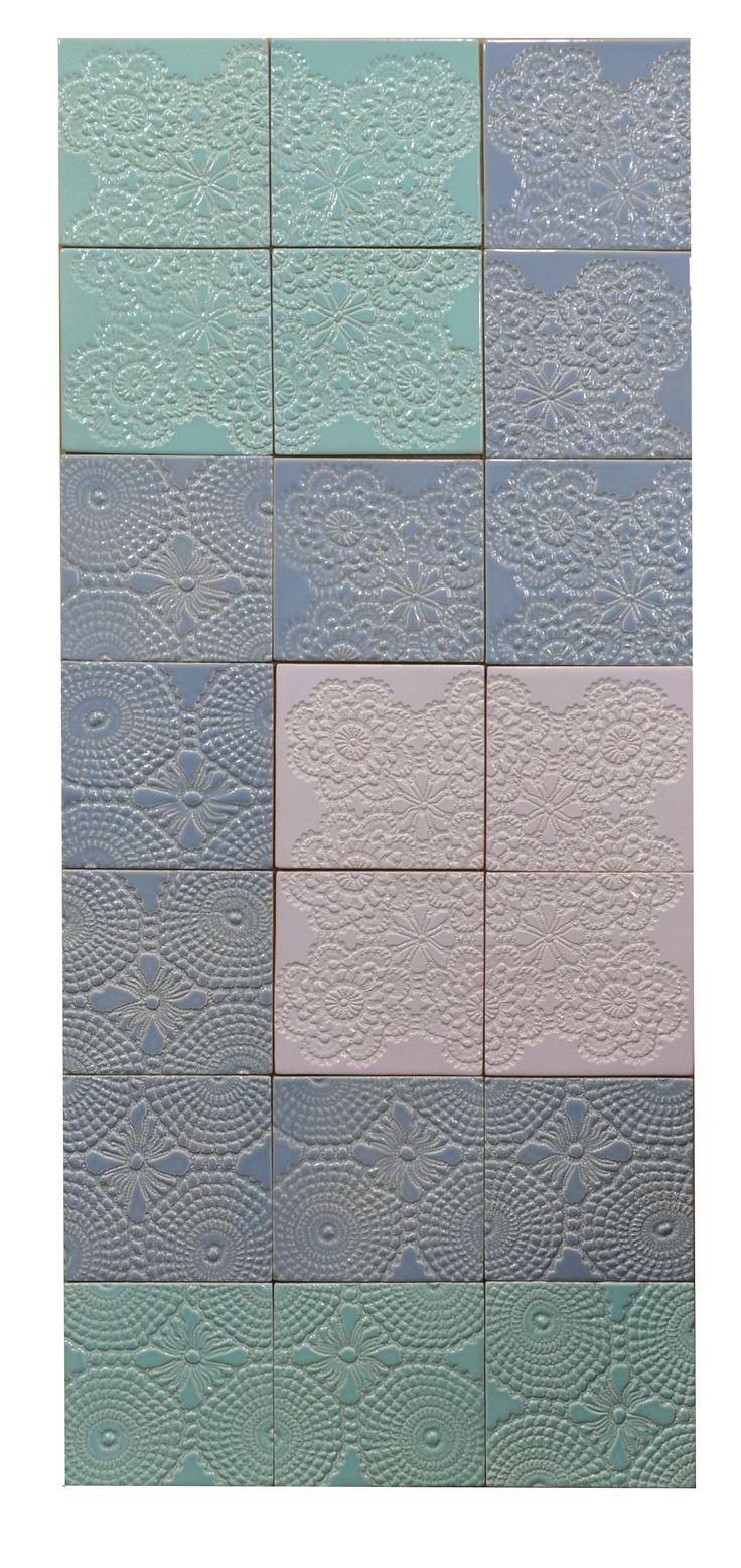 "Handmade tiles ""patchwork & barok "". Design and construction Inżynieria Designu."
