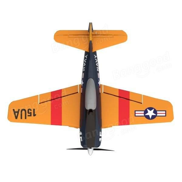 F6F 2.4G 4CH 6-Axis Gyro Easy Flying Trainer EPO Warbird RC Airplane RTF Sale - Banggood.com