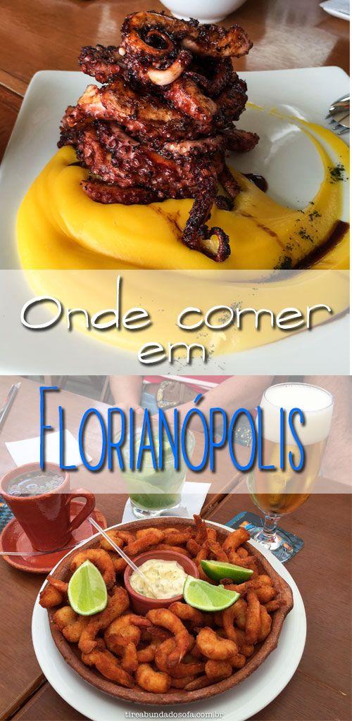 Guia de onde comer e beber em Florianópolis. Conheça os melhores restaurantes da ilha!