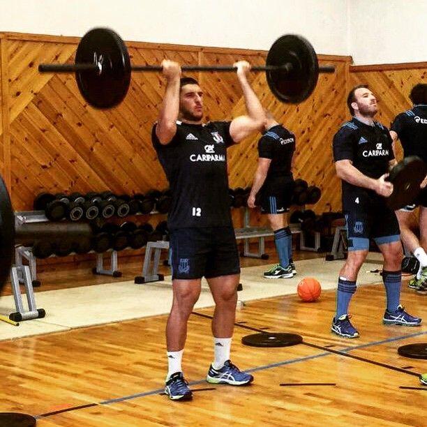 """#GiovanbattistaVenditti Giovanbattista Venditti: La preparazione è iniziata..come direbbe il buon Citta: """"CHI HA PAURA STIA A CASA"""" #rugbyworldcup #italrugby #azzurri #italia #rugby #RWC #RWC2015 #rugbylife #forzaitalia #roadtoRWC"""