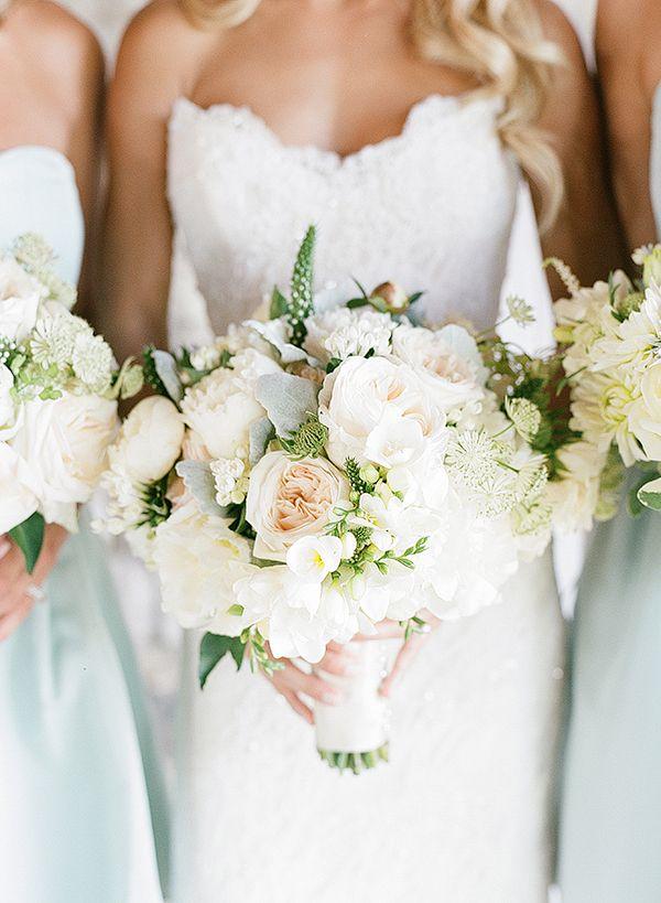peony, garden rose, sweet pea, lambs ear, Queen Anne's lace bouquet | Melissa Schollaert