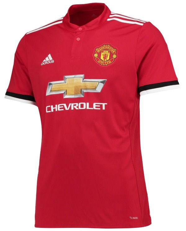 New Manchester United home shirt, 2017-2018