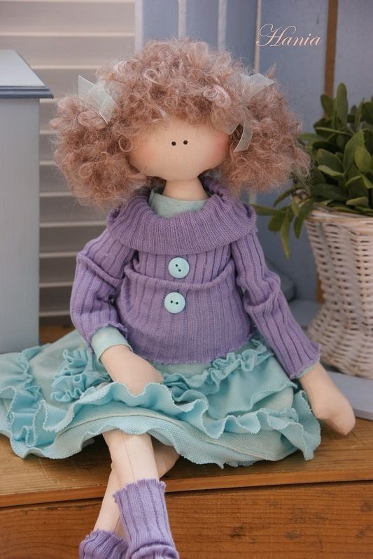 Doll made of cloth