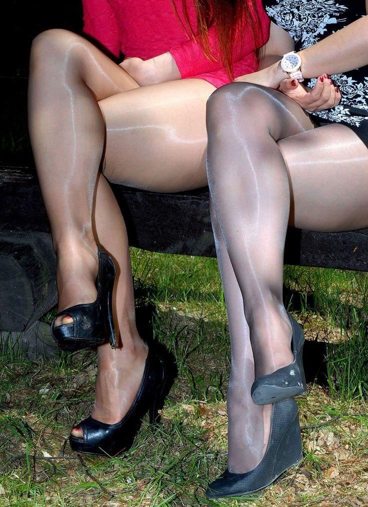 Black pantyhose up thighs consider