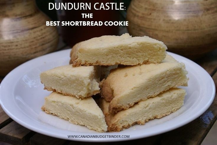 The Dundurn Castle in Hamilton Ontario is not only a 72 room castle that has been almost restored they have tours and bake shortbread cookies for tourists.