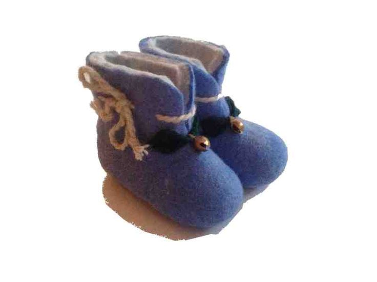 These gorgeous fair trade felt slippers are handmade from high quality, Mongolian sheep wool.