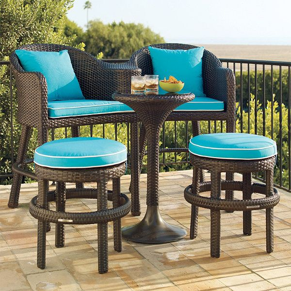 22 best images about apartment balcony seating on for Small outdoor table and chairs