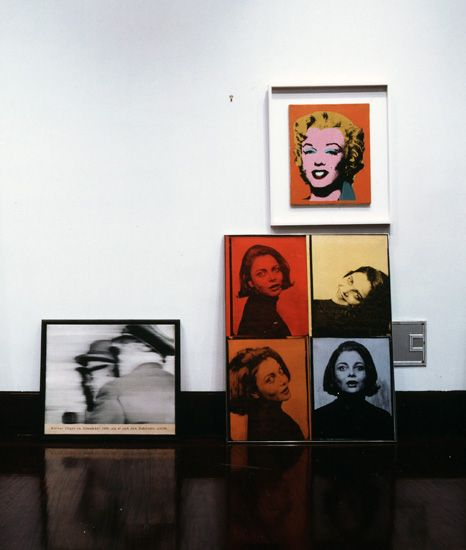 Louise Lawler, Life After 1945 (Faces)