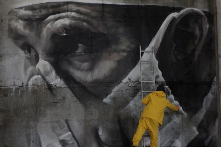 #‎Architecture in #‎Ukraine - #‎StreetArt by Guido van Helten