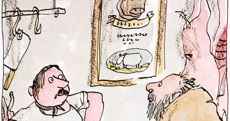 Roald Dahl's Revolting Rhymes  Roald Dahl  ~ Quentin Blake ~ Jonathan Cape, 1982   Gotta love any book that begins...   I guess you think ...