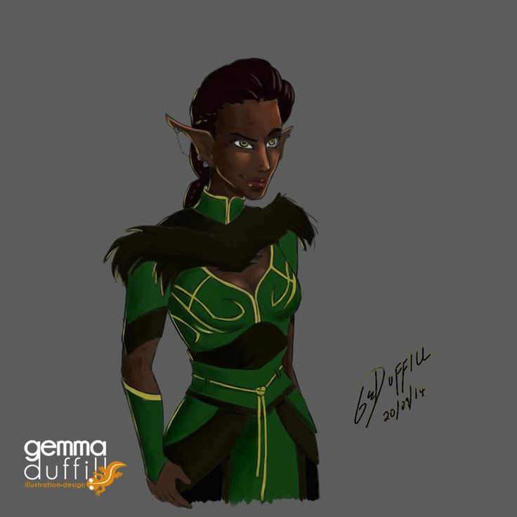 Inquisitor Lavellan by GemmaDuffill.deviantart.com on @deviantART