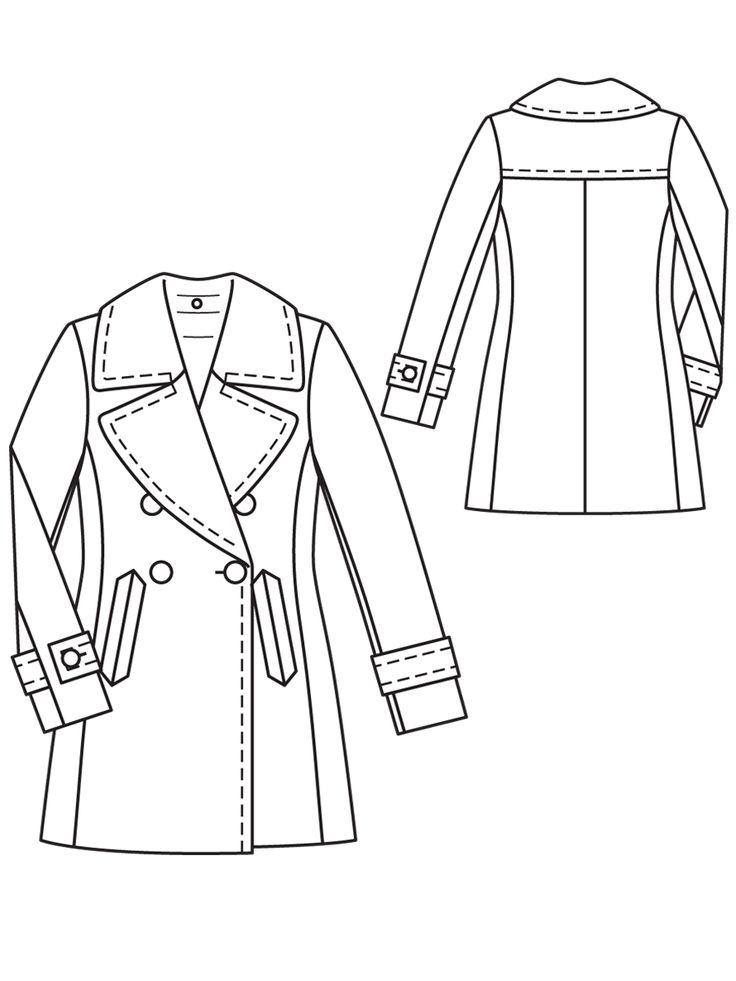 12 besten пальто Bilder auf Pinterest | Modelle, Jacke nähen und Jacken