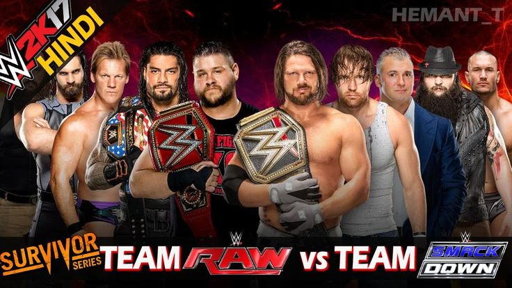 Free WWE 2K17 (Hindi) Survivor Series 2016 - Team Raw vs Team Smackdown (Men's) (PS4 Gameplay) Watch Online watch on  https://www.free123movies.net/free-wwe-2k17-hindi-survivor-series-2016-team-raw-vs-team-smackdown-mens-ps4-gameplay-watch-online/
