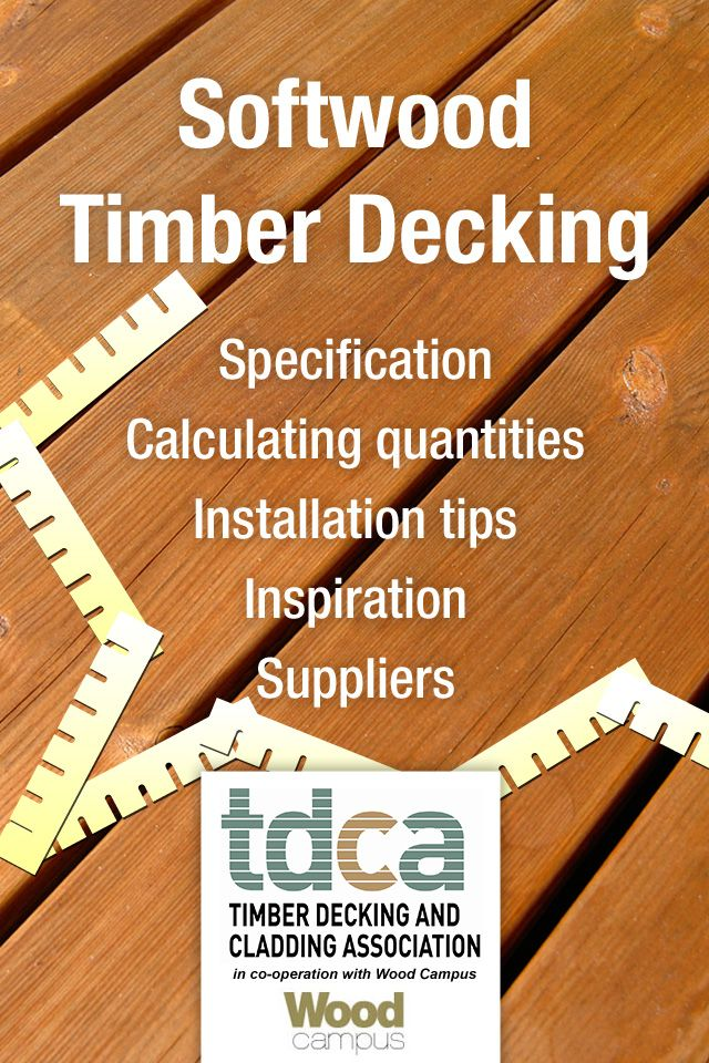 GET THE APP: With the help of Wood Campus we have designed a Softwood Decking Calculator.  It's available for I-phones and android.