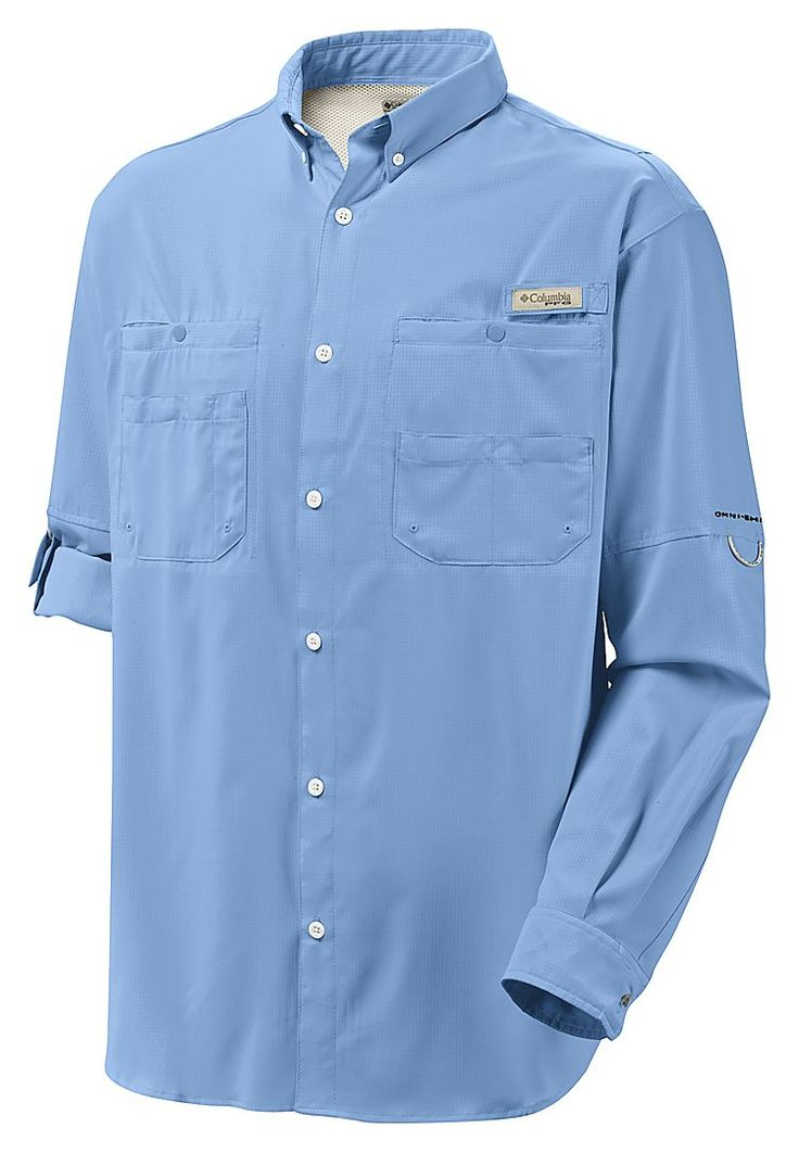 Columbia Tamiami II Long Sleeve Shirt for Men | Bass Pro Shops: The Best Hunting, Fishing, Camping & Outdoor Gear