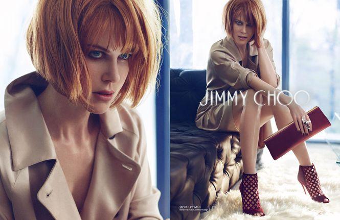 「ジミー チュウ」、ニコール・キッドマンを起用した2013-14年秋冬広告キャンペーンを公開!