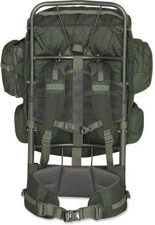 kelty yukon 48 external frame pack 4 lbs 14 oz 129