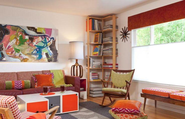 Corner-bookshelf-with-tidy-stacks