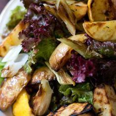 Grilled potato salads, Potato salad recipes and Potato salad on ...