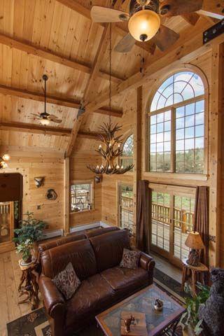 18 best Kortze Log Home Living Feature Home images on Pinterest