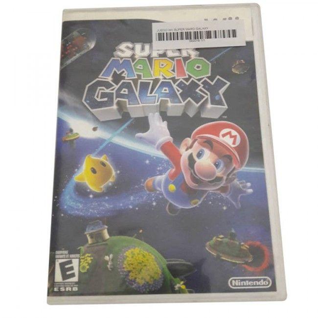 Juego Wii Super Mario Galaxy - Juegos de Consola - TV, Consolas y Juegos - Tecnología - Sensacional