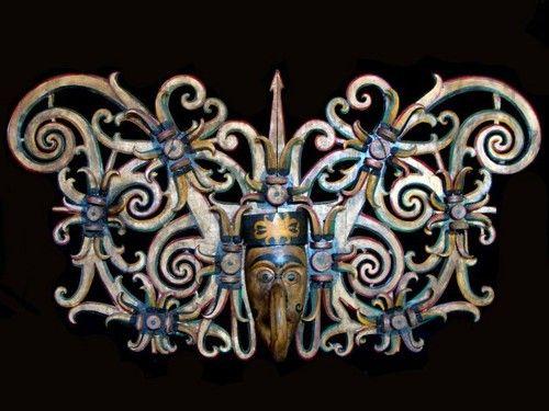 Dayak Mask, Forest Spirits, Kalimantan, Borneo