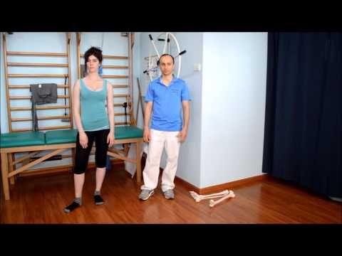 Distorsione alla caviglia, esercizi e riabilitazione