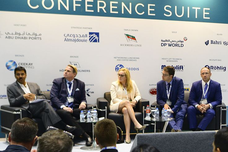 Risky Business Continues For Breakbulk Panelists respond to questions at Breakbulk Middle East