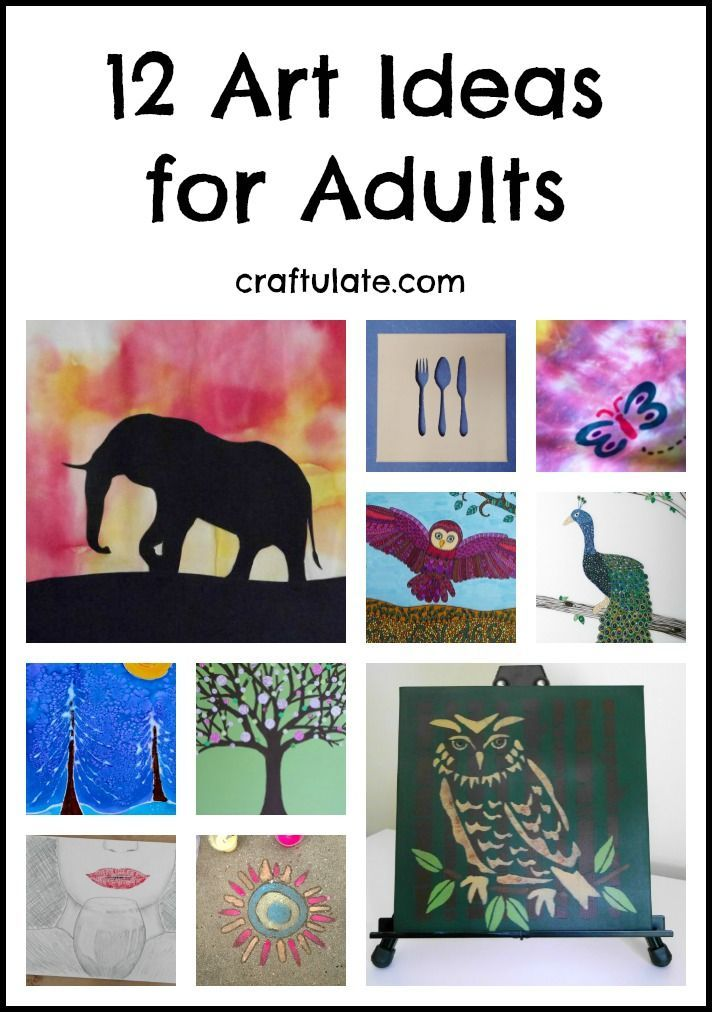 12 Art Ideas For Adults Try These Easy Techniques When You Re