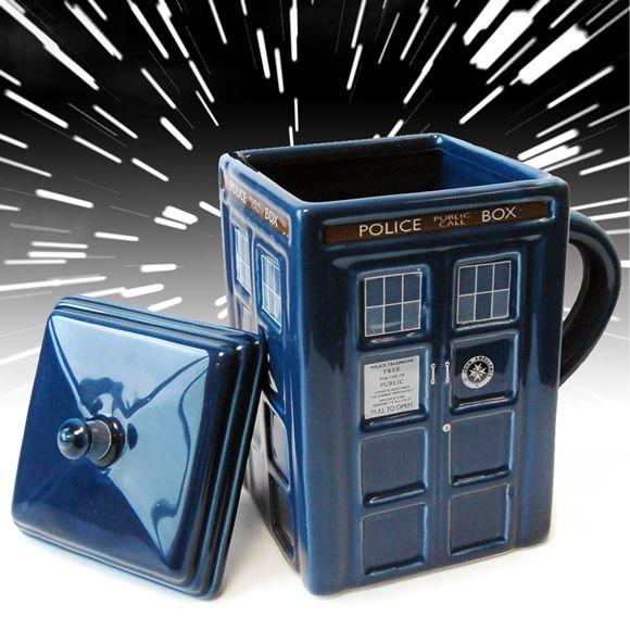 Caneca Tardis inspirada na série Doctor Who
