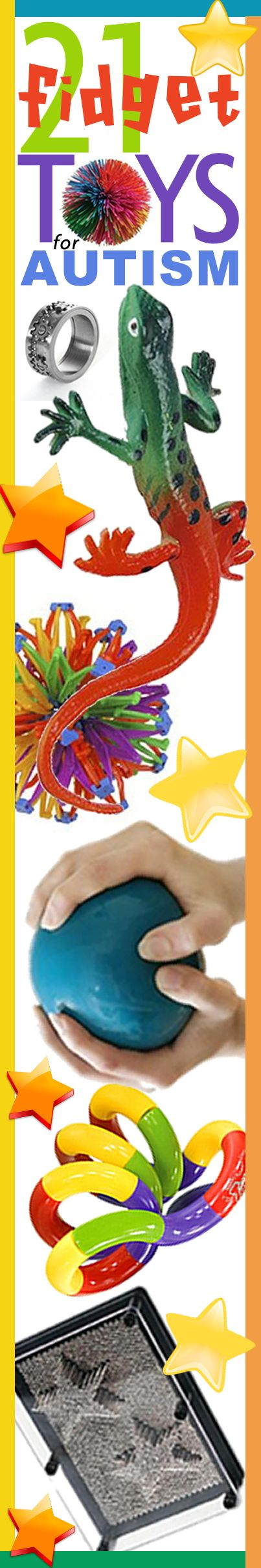 FRIENDSHIP CIRCLE: 21 Great Fidgets For Your Child With Autism