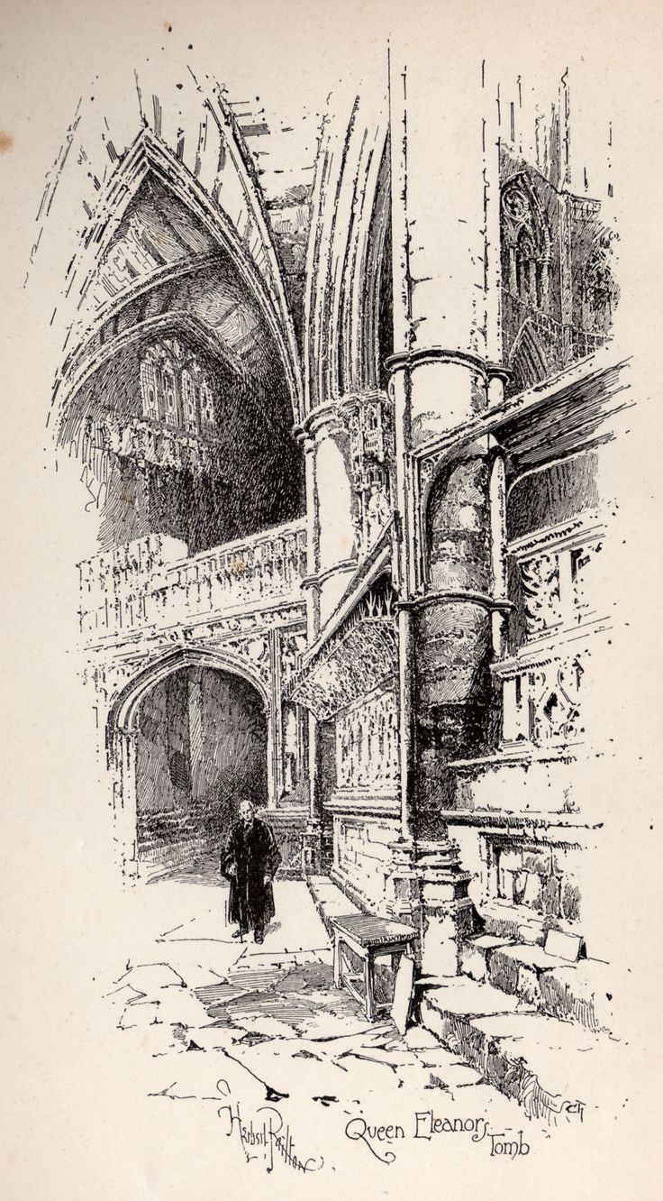 Herbert Railton Queen Eleanor's Tomb A Brief Account of Westminster Abbey 1894