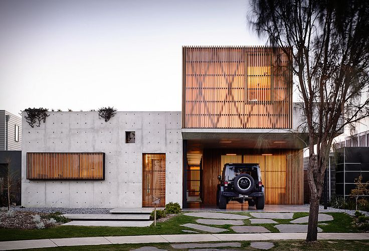 A beautiful concrete house on the Victorian surf coast in Torquay, Australia. Idealised by Auhaus Architecture