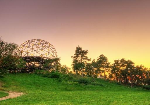 Sphere look-out tower, Balatonboglár