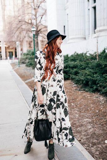 Roolee Boutique floral maxi dress